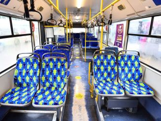 Seat covers of ego buses have been renewed