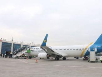 أول رحلة طيران مستأجرة لهذا الموسم إلى منتجع erciyes للتزلج من أوكرانيا