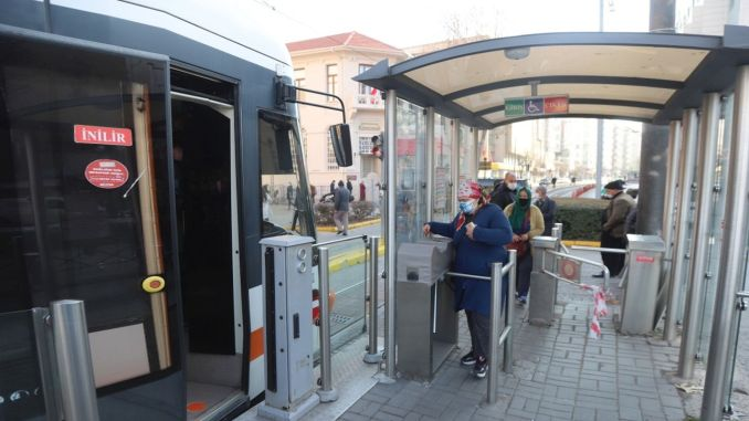 The period of account code in public transportation in eskisehir officially started