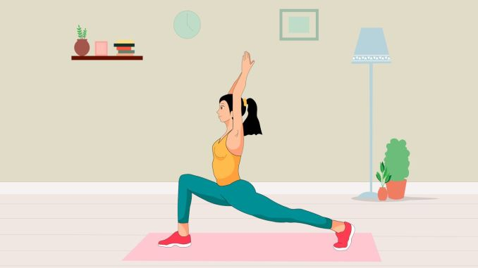 stay fit with simple exercises that can be done at home