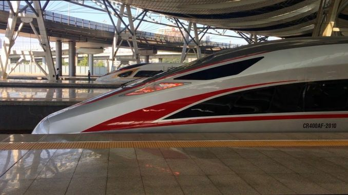 fuxing series high speed trains are put into service with all