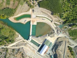 Gaziantep duzbag drinking water transmission line and doganpinar dam emergency was made.