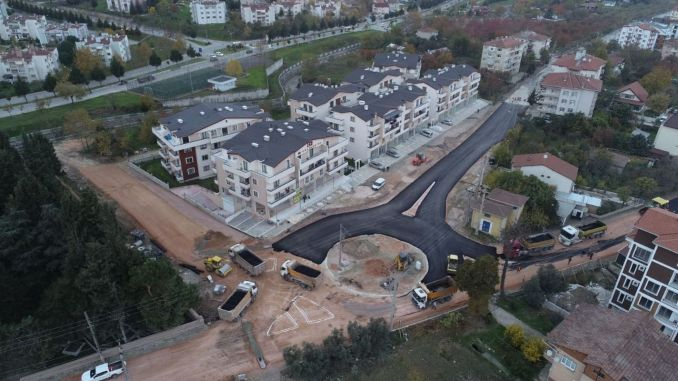 Donel intersection work completed in Golcuk
