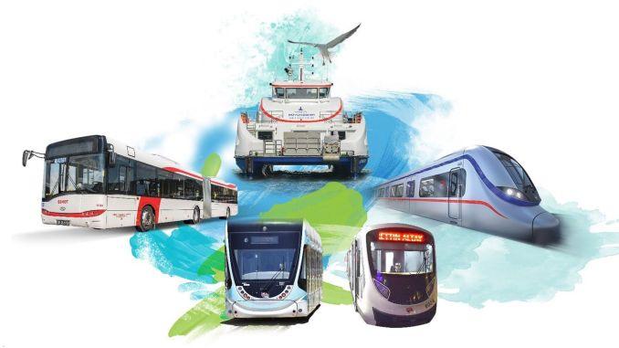 public transportation new year arrangement in izmir
