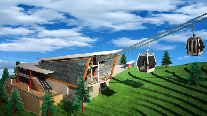 Het natuurpark Kartepe Kuzuyayla zal de kabelbaan groot maken