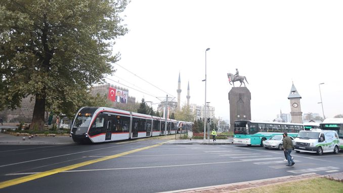 Account code was implemented for safe transportation in Kayseri without corona
