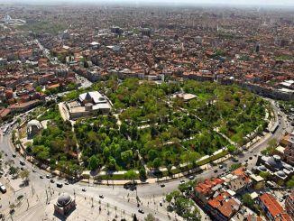 about konya alaeddin hill and alaeddin mosque