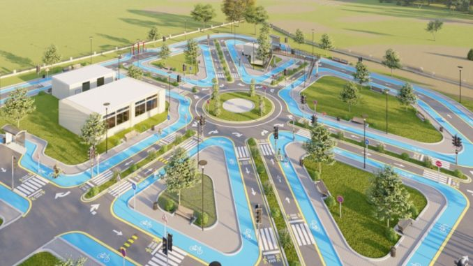 traffic education park for children from mardin metropolitan municipality