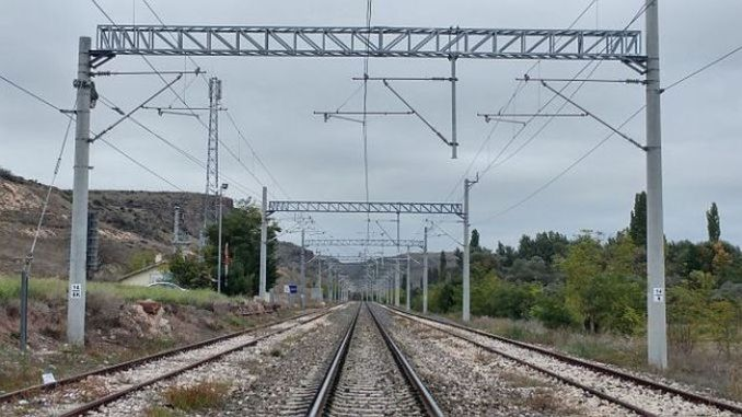 Establishment of additional electrification facilities in the menemen dip lines