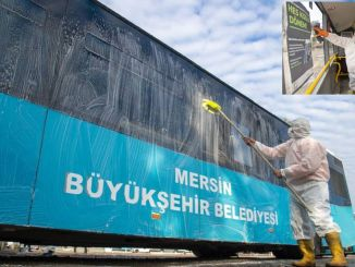 hygiene mobilization from the great city of Mersin