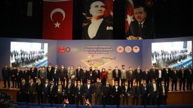 Post-pandemic regional development meeting held in diyarbakir