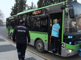 COVID inspections in public transport in Sakarya increasingly continue
