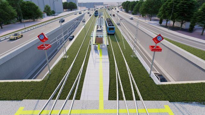 tala homeland tram line tender will be held in intervals