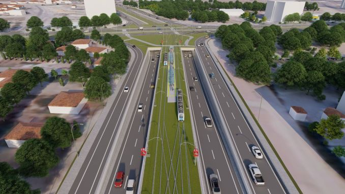 Infolge der Ausschreibung für den Bau der Talas Homeland Straßenbahnlinie