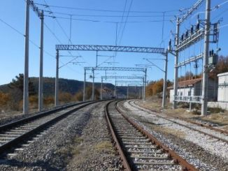 Energy transmission line construction work for substations