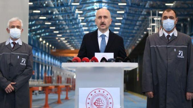 Turasas begins manufacturing national suburban train set