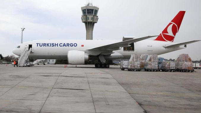 turkish cargo carries kovid asilarini