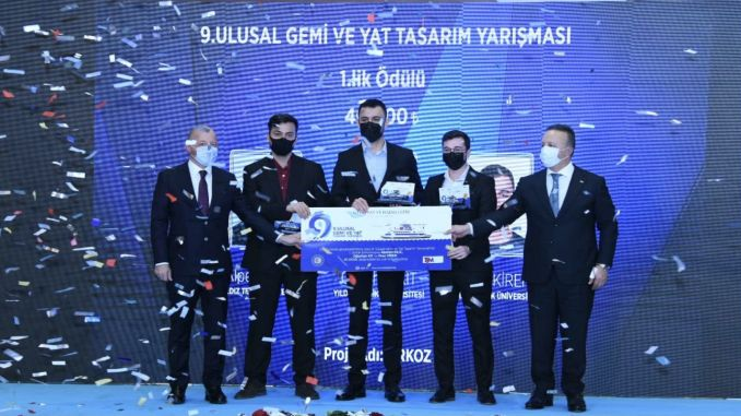 award ceremony of national ship and yacht design competition