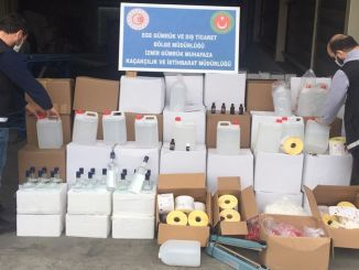 Before the beginning of the year, a thousand liters of counterfeit alcohol were seized