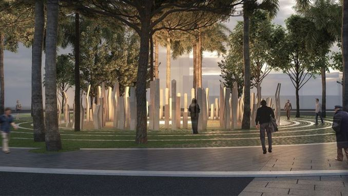 October monument and memorial site project competition concluded