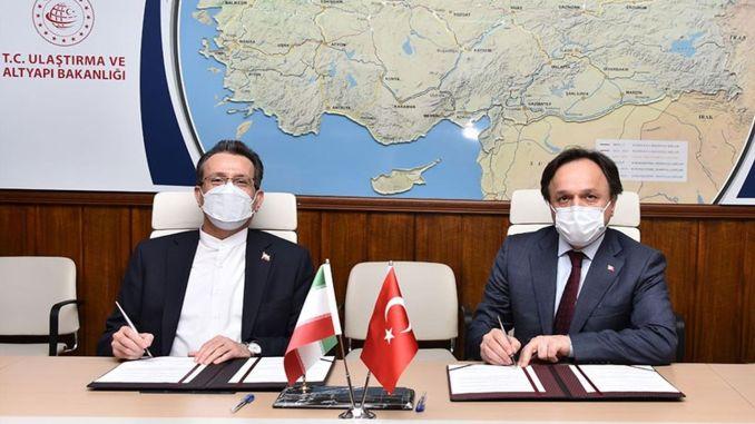 Spotkania między urzędnikami Islamskiej Republiki Iranu i TCDD