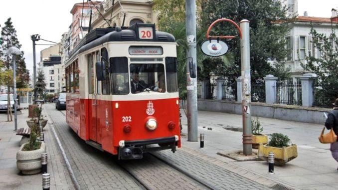 Kadikoy Moda Tramway Closed Between January Dates