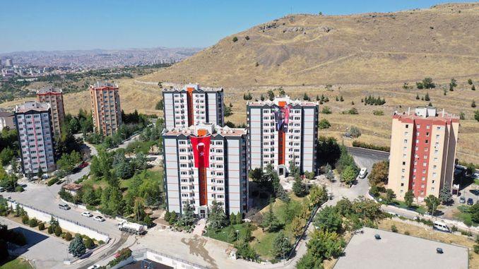 great interest in ankara eserkent social housing