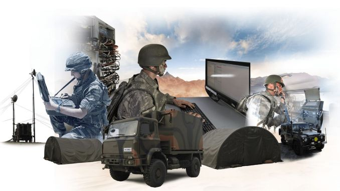tactical local area network system delivery from ASELSAN to land forces