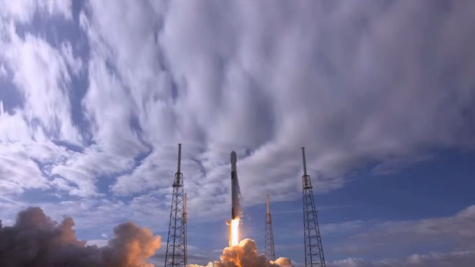 aselsat u cup satellite sent to the south with falcon rocket
