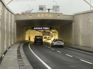 Onko Euraasian tunnelin ylitysmaksu korkeampi helmikuusta?