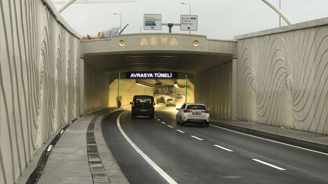 Will the Eurasia Tunnel crossing fee be higher from February?
