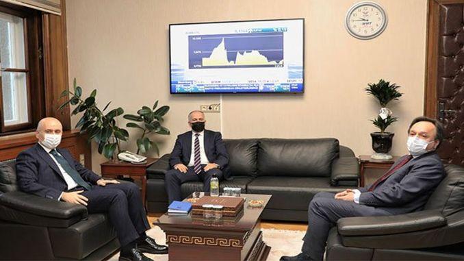 زار الوزير karaismailoglu tcdd tasimacilik المدير العام pezuku
