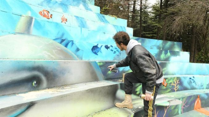 baskent parklari grafitti sanatcilarina acildi