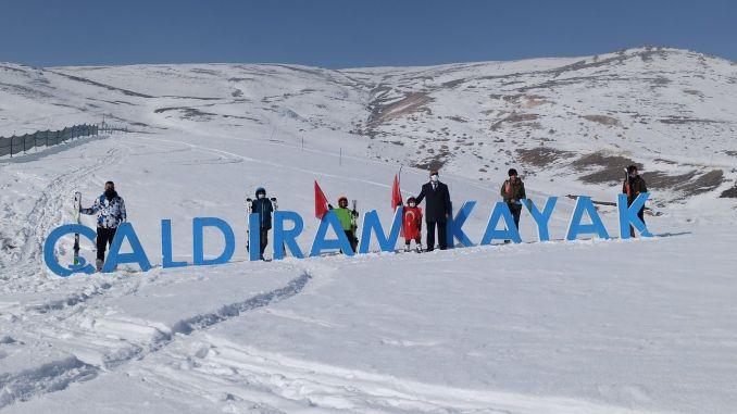 caldiran ski center will be made the attraction center of the region