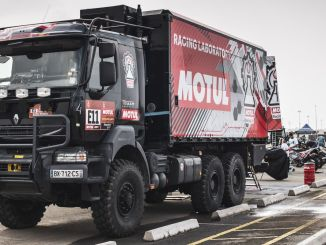 أكمل رالي داكار احتلت فرق موتول مكانها في القمة