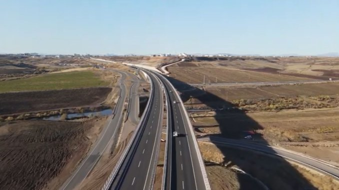 The camel bridge on the diyarbakir ergani road was opened for service