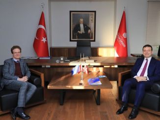 We want to be a locomotive institution in relations with ekrem imamoglu ab