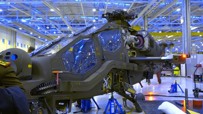 The images of the first attack helicopter of the General Directorate of Security were shared