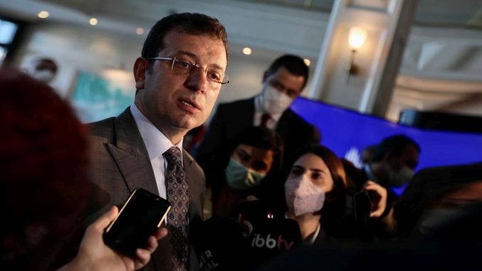 Channel Istanbul response to the institution minted by the ibb president imamoglu