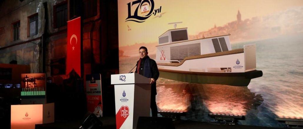 Τα θαλάσσια ταξί imamoglu θα αρχίσουν να λειτουργούν το καλοκαίρι