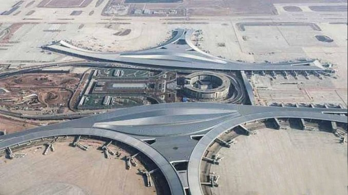 The most important airport of the silk road is ready for emergency