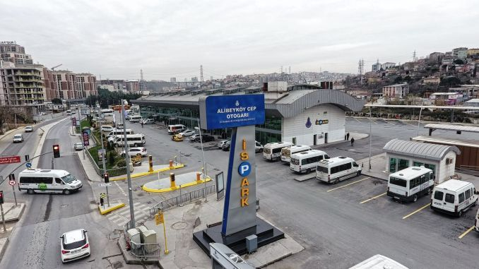 Access to ispark alibeykoy mobile bus station is easier now