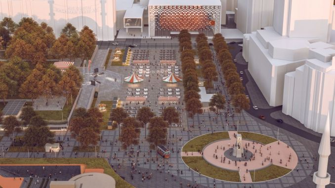 The results of the istanbul square design competitions are announced tomorrow