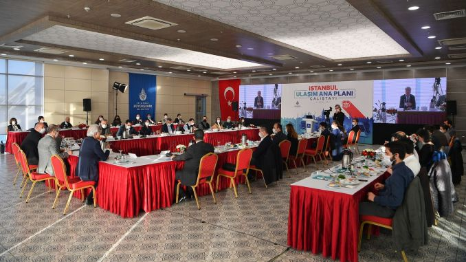The future of transportation was discussed in istanbul transportation master plan workshop