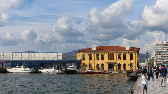 Answer to the lies about the historical passport pier in Izmir, Istanbul