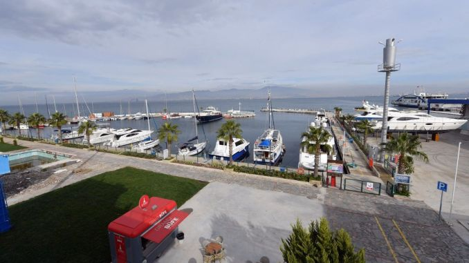 izmir marina becomes a center of attraction again