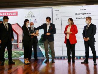 Проведен розыгрыш лотереи резиденций kiptas izmit cinar homes