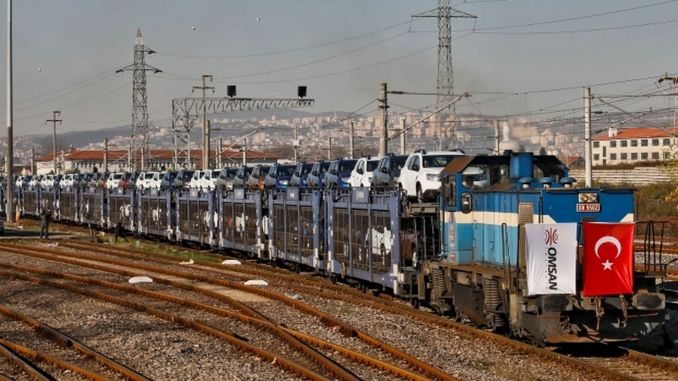 blazed a trail in the world by carrying cars under the sea with Marmaray