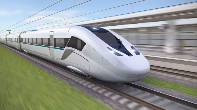 reviewing fast train network agreement with siemens egypt