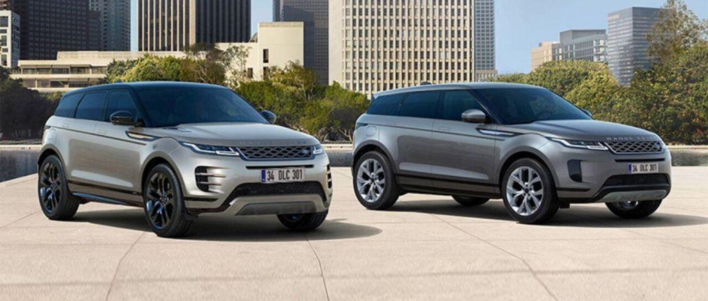 Range Rover Evoque litra benzīna dzinējs ar opciju turkiyede